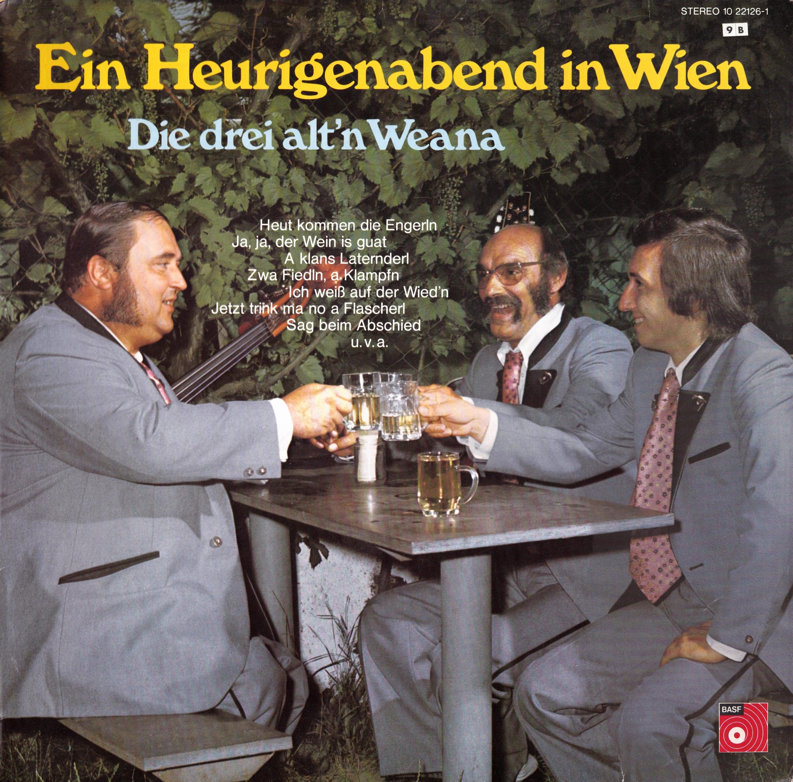 Ein Heurigenabend in Wien – 1