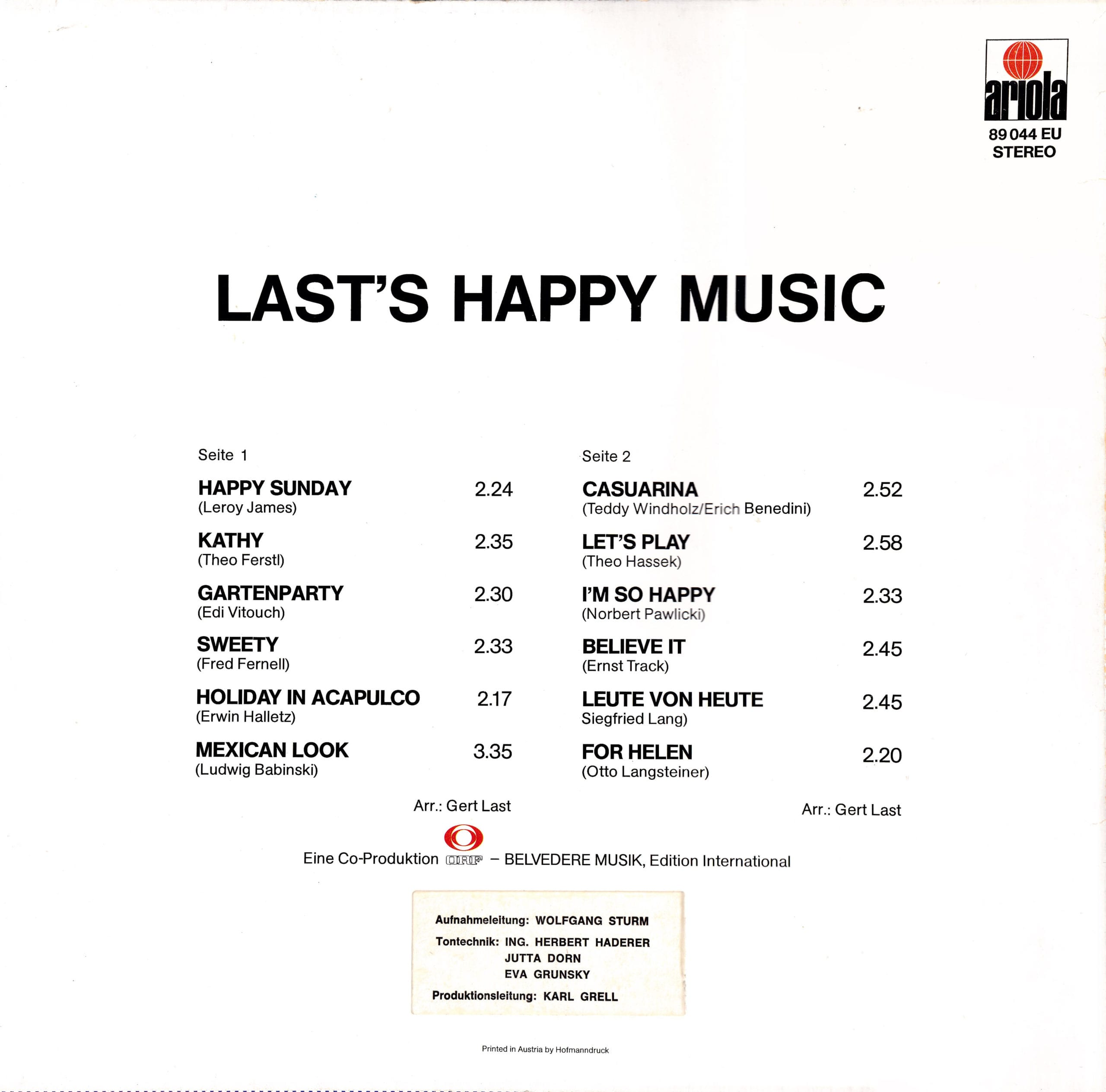 Lasts Happy Music – 2