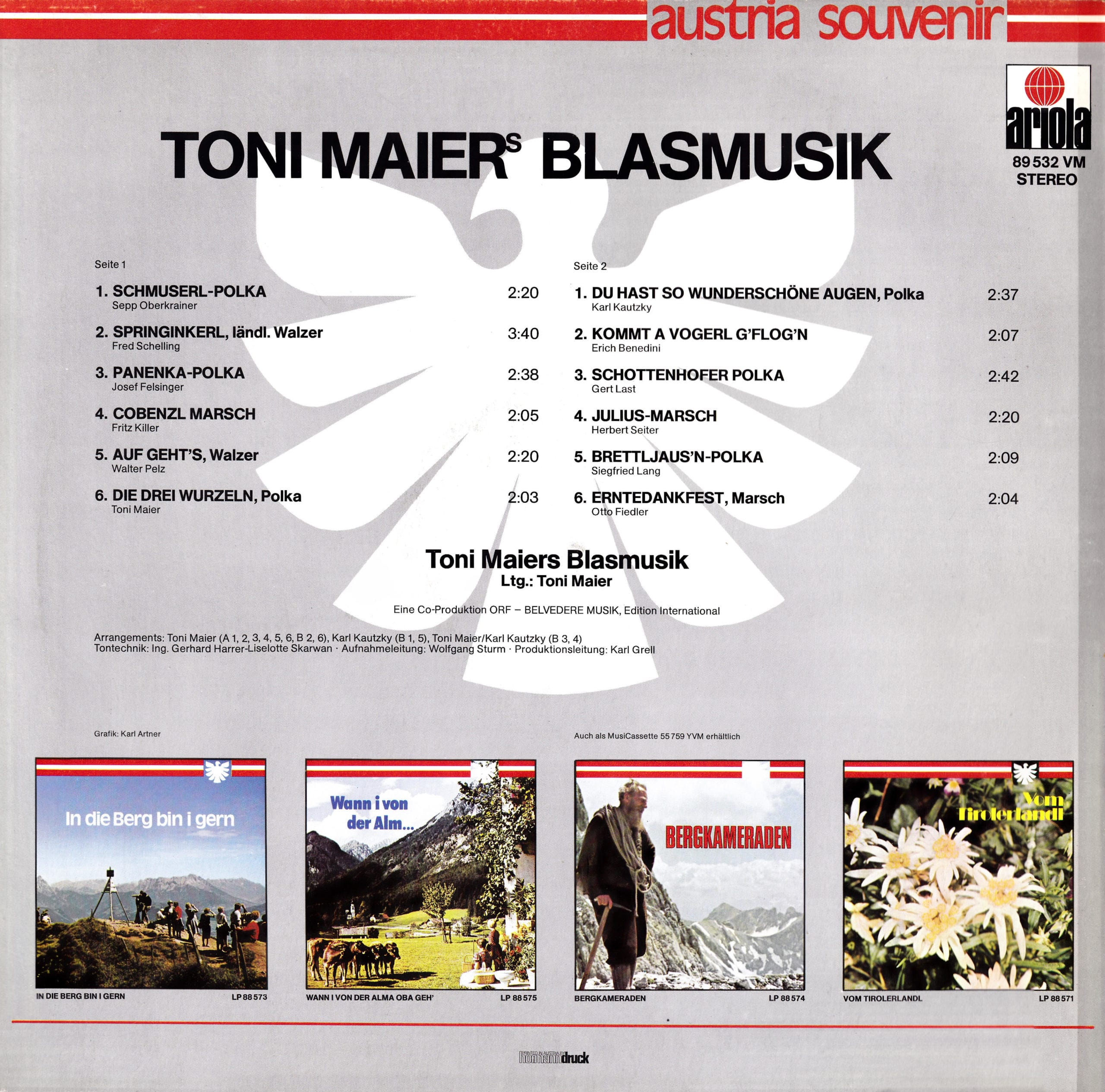 Toni Maiers Blasmusik – 2