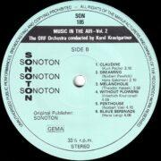 Music In The Air, Vol. 2 – 4
