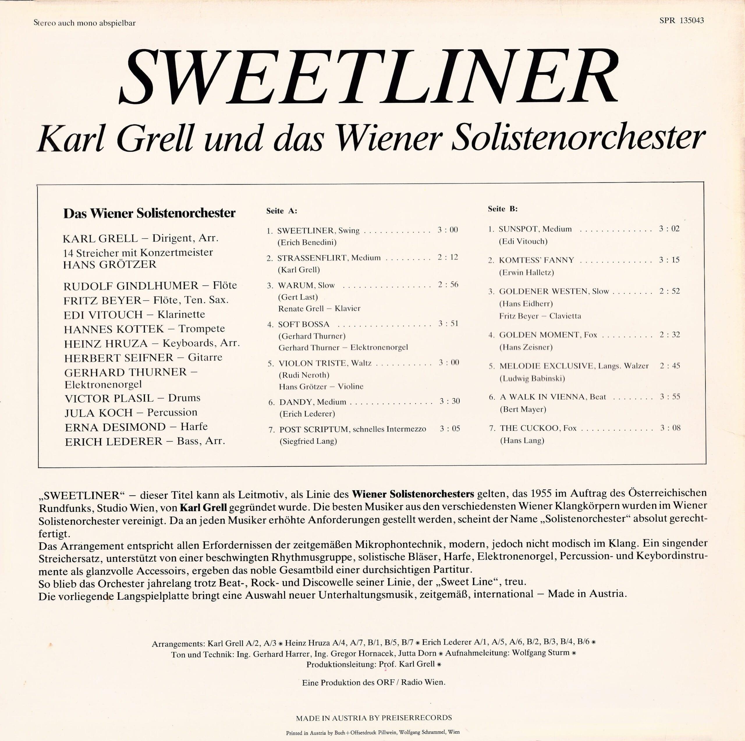 Sweetliner – 2