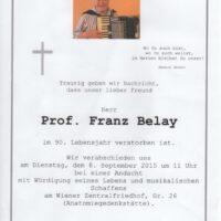 Belay Franz Pate