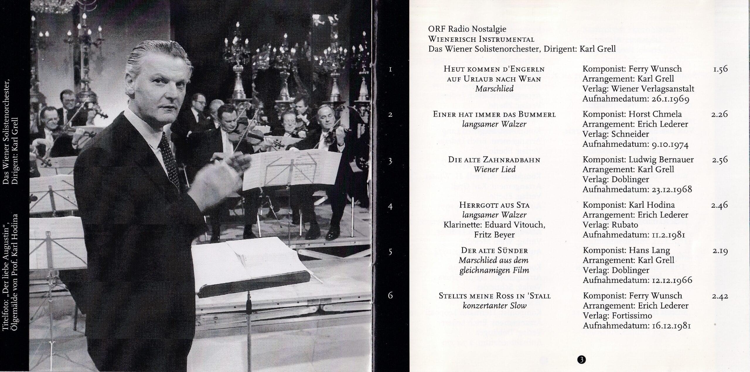 Wienerisch instrumental – Booklet – 2-3