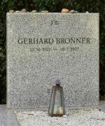 Gerhard Bronner Grab
